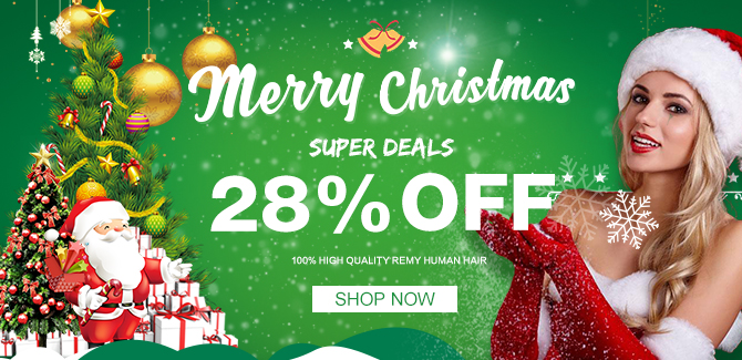 2017 hair extensions christmas sale