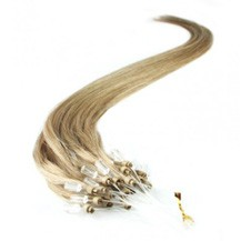 "16"" Golden Blonde (#16) 100S Micro Loop Remy Human Hair Extensions"