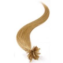 "16"" Golden Blonde (#16) 100S Nail Tip Human Hair Extensions"