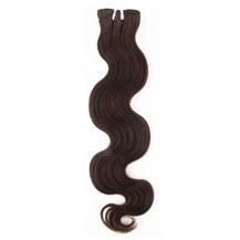 "16"" Chocolate Brown (#4) Body Wave Indian Remy Hair Wefts"