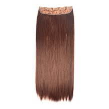 "24"" Vibrant Auburn(#33) One Piece Clip In Synthetic Hair Extensions"