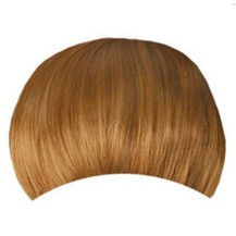 Invisible Seamless Neat Bang Golden Blonde 1 Piece