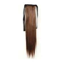 Bundled Long Straight Ponytail Flax Yellow 1 Piece