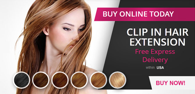 remy human clip in hair extensions