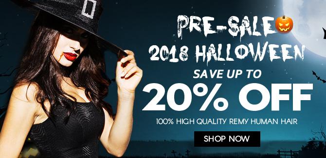 2018 halloween hair extensions sale online