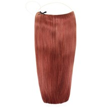 "PARA 24"" Human Hair Secret Extensions Dark Auburn (#33)"