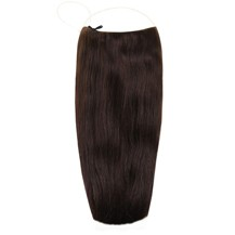 "PARA 24"" Human Hair Secret Extensions Dark Brown (#2)"