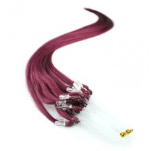 "18"" Bug 100S Micro Loop Remy Human Hair Extensions"