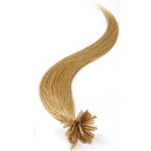 "20"" Golden Blonde (#16) 100S Nail Tip Human Hair Extensions"