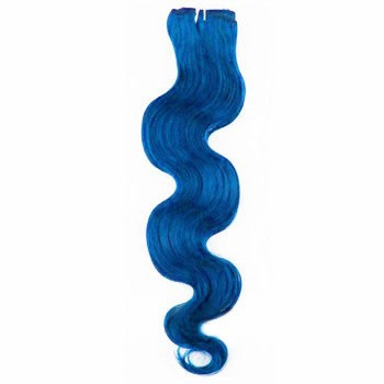 "18"" Blue Body Wave Indian Remy Hair Wefts"
