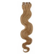 """28"""" Golden Brown (#12) Body Wave Indian Remy Hair Wefts"""