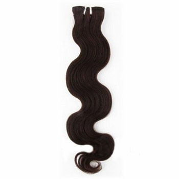 "10"" Dark Brown (#2) Body Wave Indian Remy Hair Wefts"