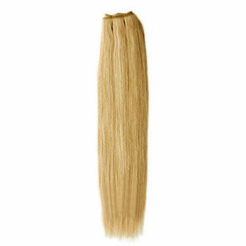 "10"" Strawberry Blonde (#27) Straight Indian Remy Hair Wefts"