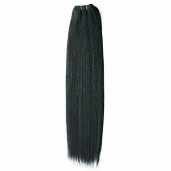 "12"" Off Black (#1b) Straight Indian Remy Hair Wefts"