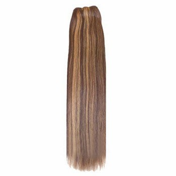 """14"""" Brown/Blonde (#4/27) Straight Indian Remy Hair Wefts"""