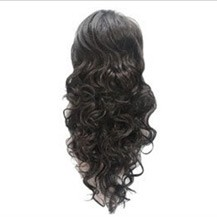 French Romantic Curls Sexy Bud Head Ponytail Black 1 Piece