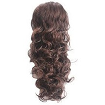 French Romantic Curls Sexy Bud Head Ponytail Deep Chestnut Brown 1 Piece