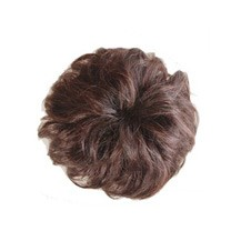 Bun Hair Piece Extension Synthetic Hairpiece Updo Deep Chestnut Brown 1 Piece