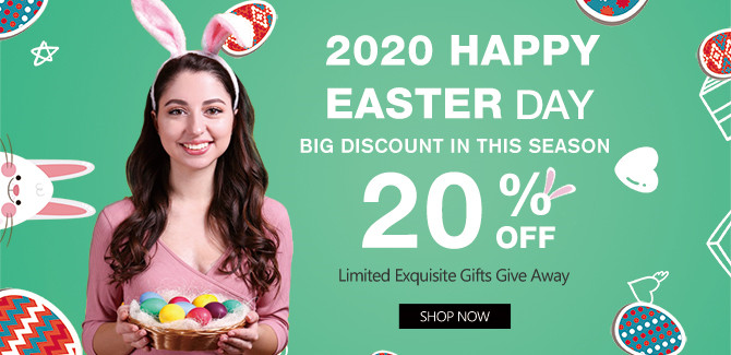 2020 hair extensions Easter Day Sale online