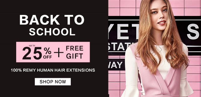2019 hair extensions back to school sale online