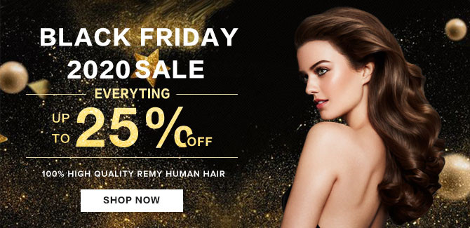 2020 hair extensions black friday Sale online
