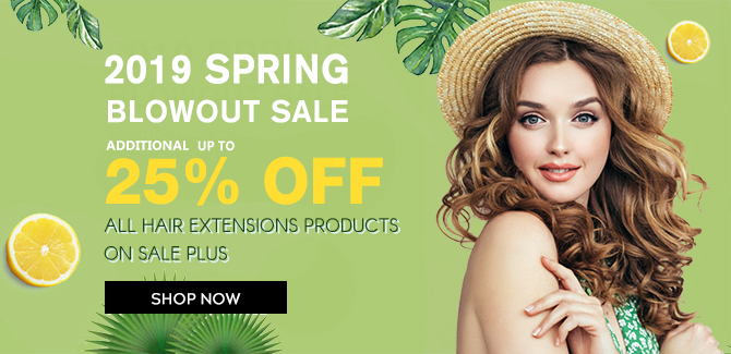 2019 hair extensions spring sale online