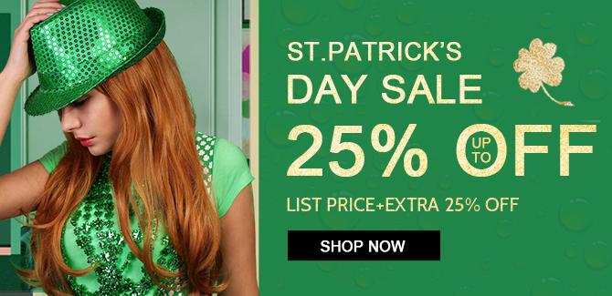 2019 hair extensions saint patrick day sale online