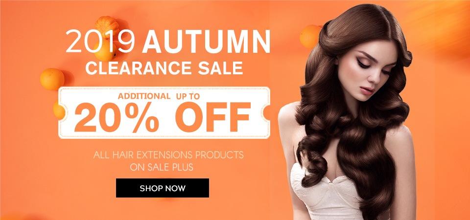 2019 hair extensions autumn sale online