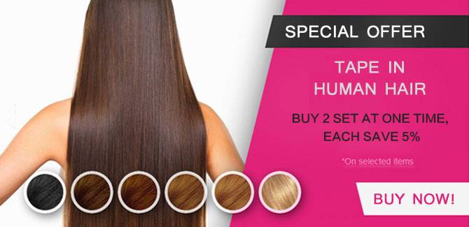 tape in remy human hair