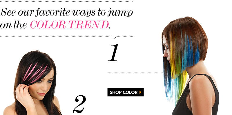 Hair Extensions Trend Watch 2015 Bright Color Bright Now With